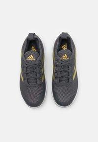 adidas Performance - COURT CONTROL  - Allcourt tennissko - grey six/gold metallic/footwear white - 3