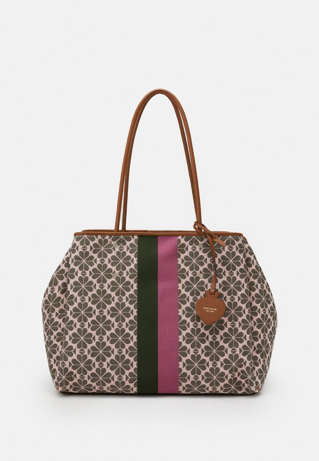 EVREYTHING SPADE LARGE TOTE - Shoppingveske - pink multi