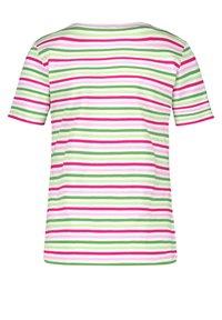 Gerry Weber - Print T-shirt - lila pink grün ringel - 1