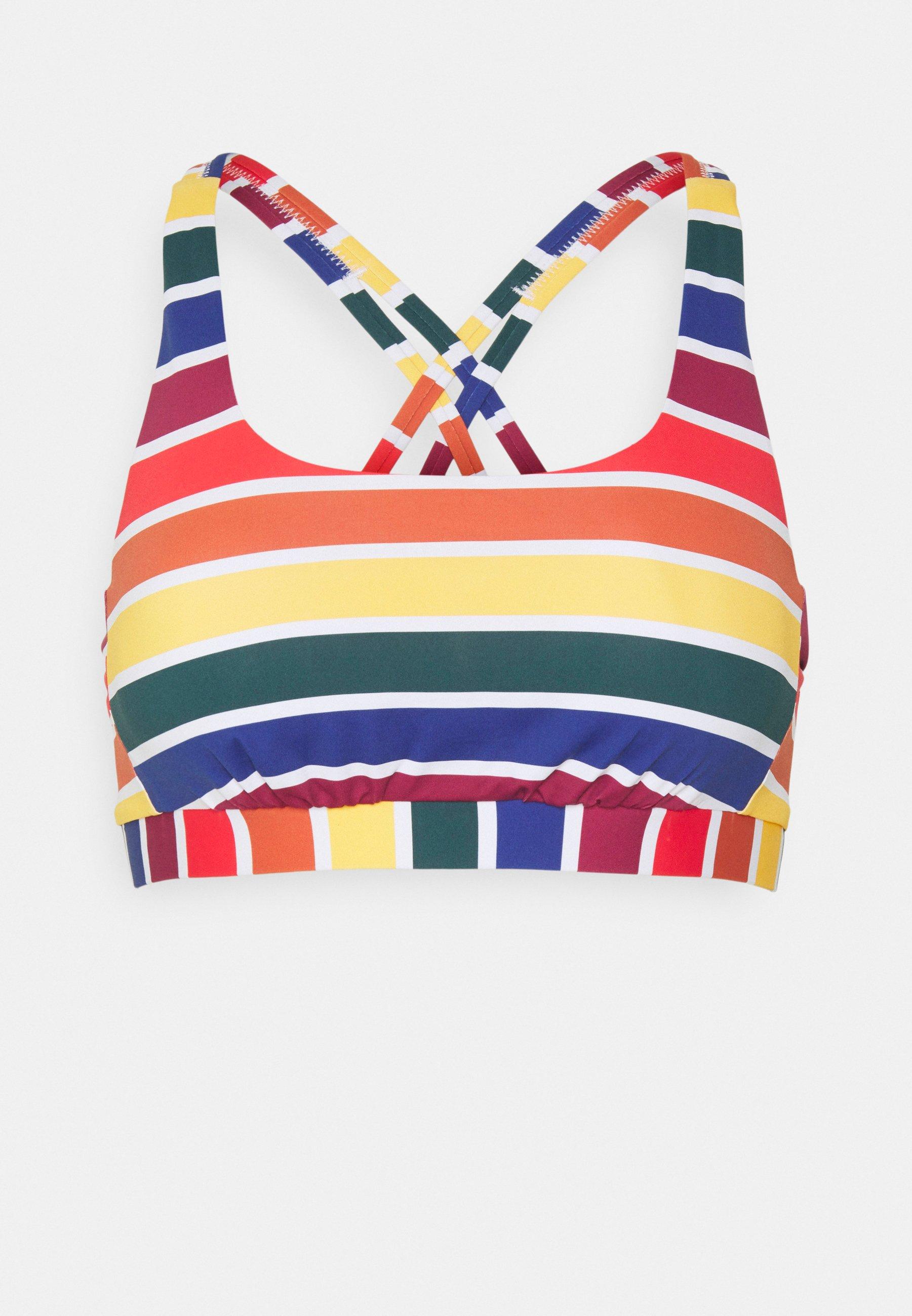 Women BUSTIER - Bikini top - rainbow