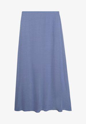 CAROL - Maxi skirt - tempest blue