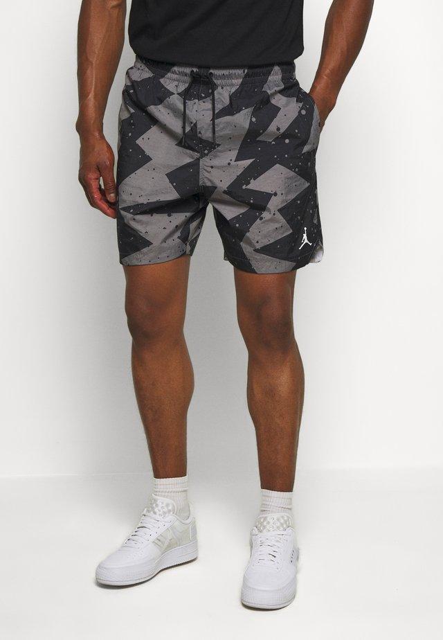 JUMPMAN POOLSIDE - Shorts - smoke grey/white