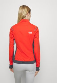 The North Face - SPEEDTOUR STRETCH - Soft shell jacket - flare/vanadsgry - 2