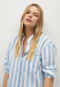 Violeta by Mango - PEDRO8 - Button-down blouse - light blue - 3
