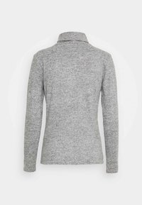 Pieces - PCPAM HIGH NECK - Jumper - light grey melange - 6
