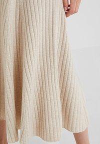 pure cashmere - FLARED SKIRT - A-line skjørt - oatmeal - 4
