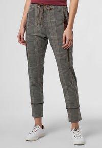 MAC - Leggings - Trousers - beige schoko - 0