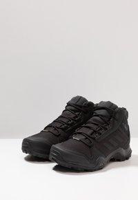 adidas Performance - TERREX AX3 MID GORE-TEX - Zapatillas de senderismo - clear black/carbon - 2