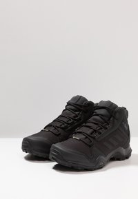adidas Performance - TERREX AX3 MID GORE-TEX - Hiking shoes - clear black/carbon - 2