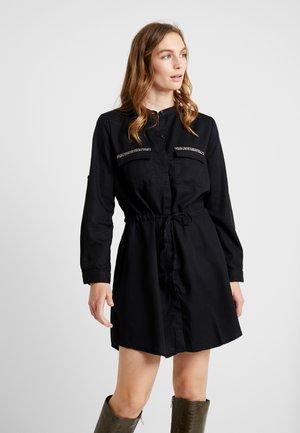 ELYA - Košilové šaty - black