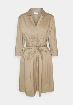 JDYMILLIE LIFE DRESS - Shirt dress - dune
