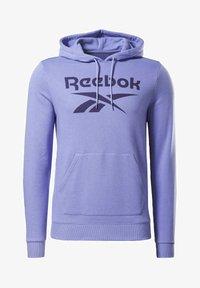 Reebok - REEBOK IDENTITY BIG LOGO HOODIE - Hoodie - purple - 5
