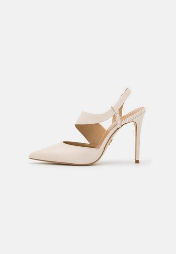 JULIET SLING - High heels - light cream