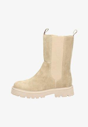 HAVANAH  - Platform ankle boots - beige