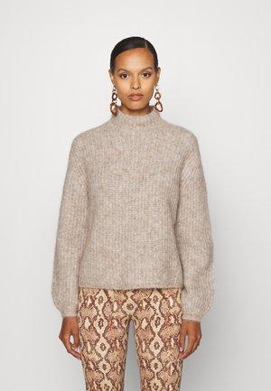 SYRINGA RIKA - Sweter - roasted grey melange