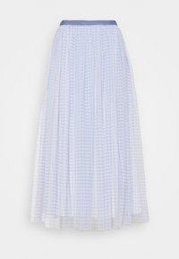 Needle & Thread - GINGHAM BALLERINA SKIRT - Áčková sukně - wedgewood blue/ivory - 0