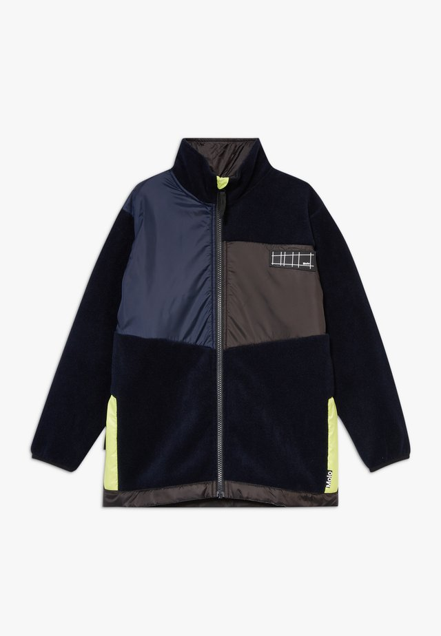 URBAIN - Fleecejacke - dark navy