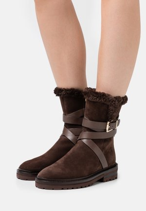 VALLEY ROAD - Classic ankle boots - dark brown