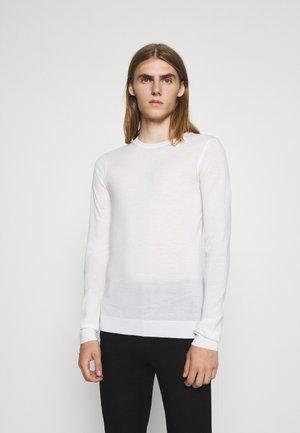 CHARLES CREW NECK - Pullover - snow white