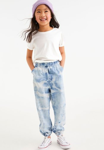 Relaxed fit jeans - multi-coloured