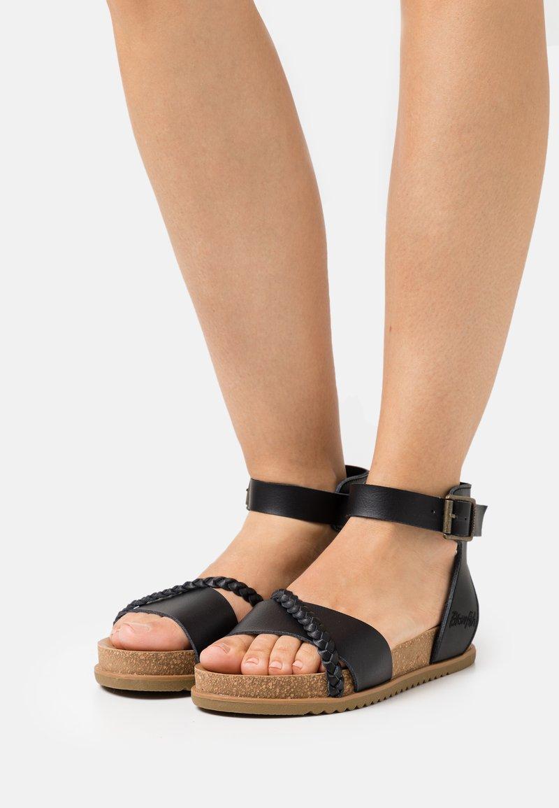 Blowfish Malibu - VEGAN FALTEN - Sandals - black