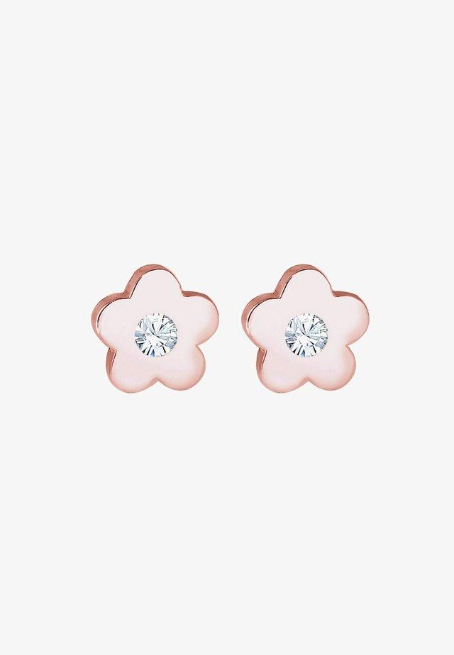 BLUME - Earrings - roségold