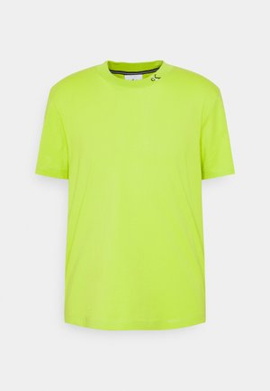 MONOGRAM TEE UNISEX - Print T-shirt - lime green