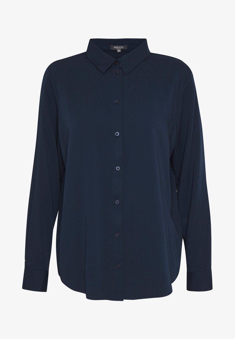 mine to five TOM TAILOR BLOUSE - Hemdbluse - soft charming blue/blau 7vtyQh