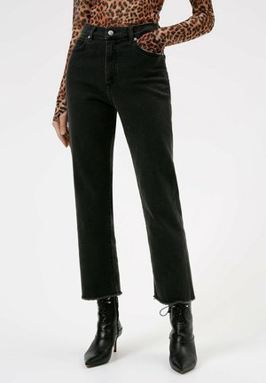 GAYANG - Flared Jeans - anthracite