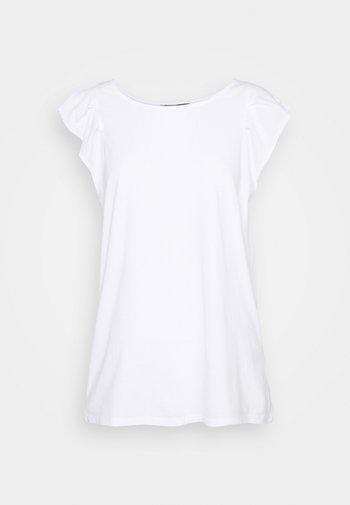 FLUTTER TANK - Jednoduché triko - white