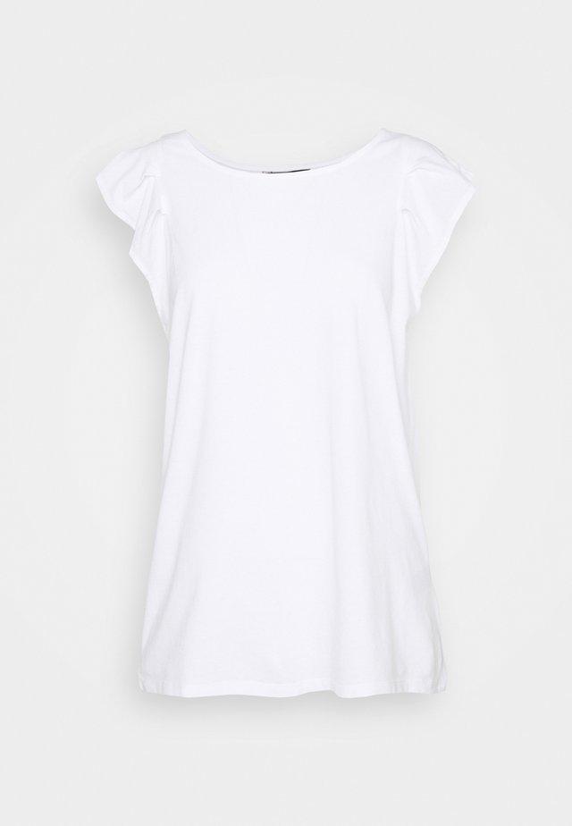 FLUTTER TANK - T-shirt basic - white