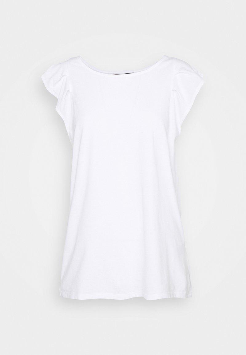 Banana Republic - FLUTTER TANK - Basic T-shirt - white