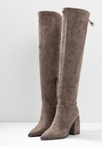 Alma en Pena - High heeled boots - taupe - 4