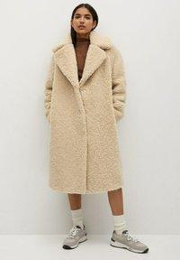 Mango - RIZOS - Classic coat - beige - 1