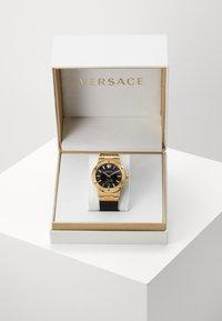 Versace Watches - GRECA LOGO - Zegarek - black - 2