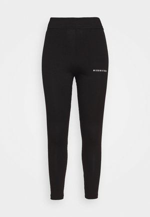 PLUS SIZE BRANDED - Leggings - Trousers - black