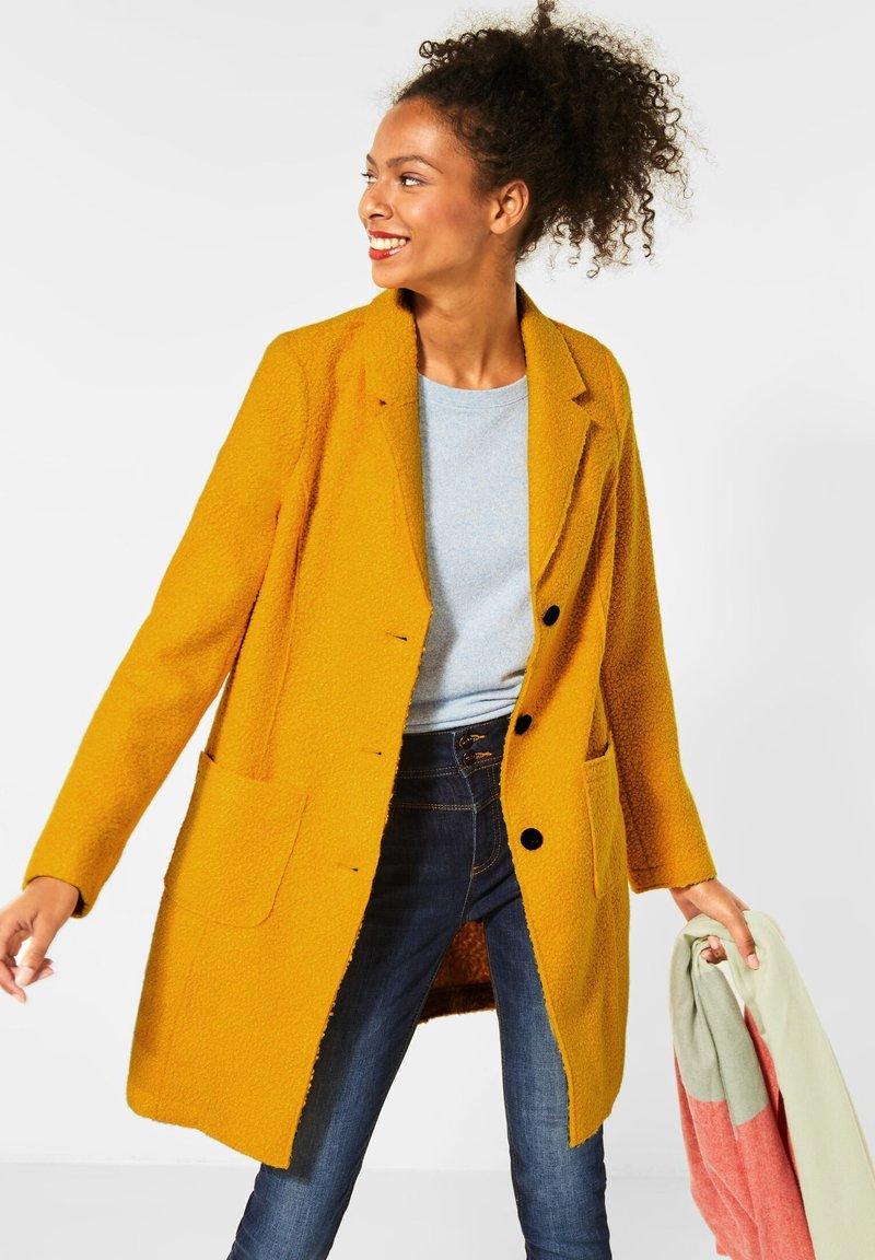 Street One - Classic coat - orange