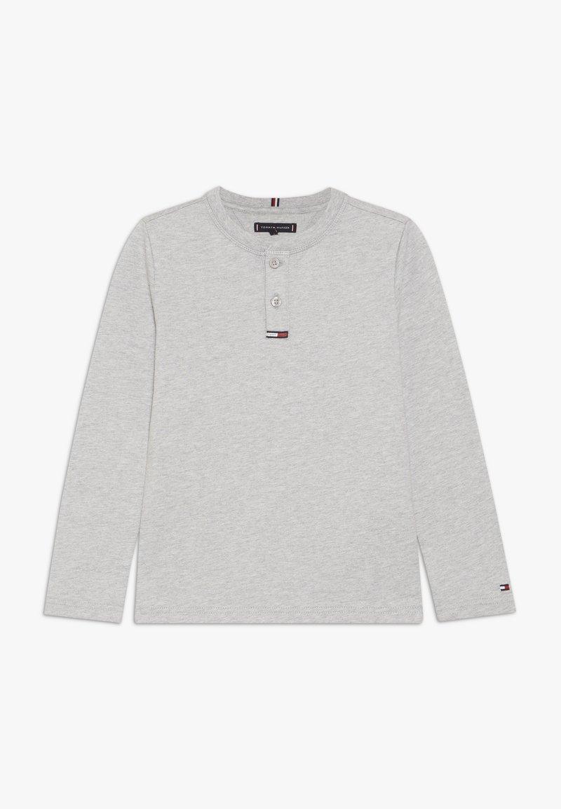 Tommy Hilfiger - WAFFLE HENLEY TEE - Camiseta de manga larga - grey