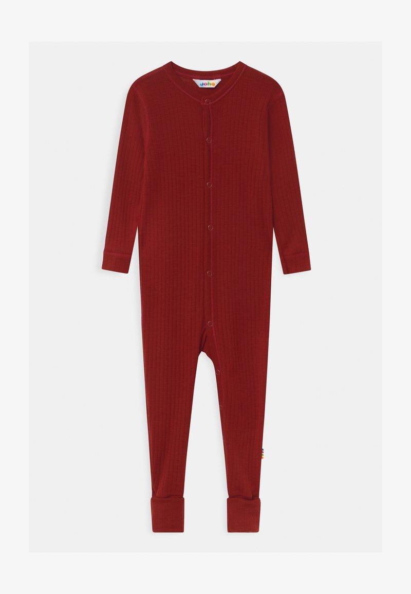 Joha - FOOT BASIC UNISEX - Pyjama - red