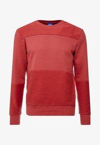 JORHOAN CREW NECK - Sweatshirt - brick red