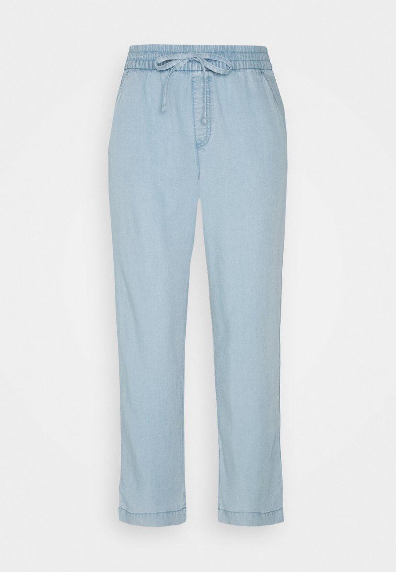 GAP - EASY PANT - Trousers - light indigo