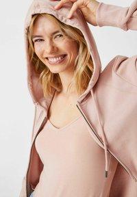 C&A - Zip-up sweatshirt - light pink - 2