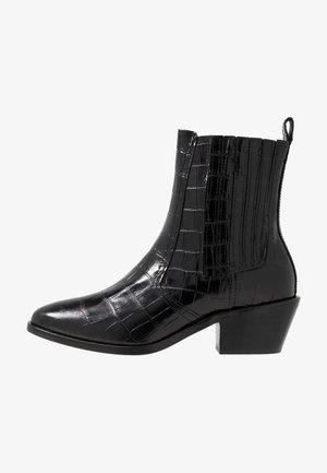 MIRIAM CROCO - Støvletter - black