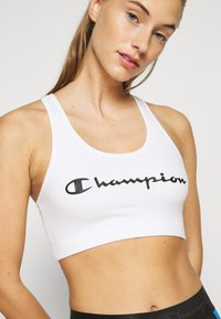 Champion - BRA LEGACY - Sujetadores deportivos con sujeción media - white - 5