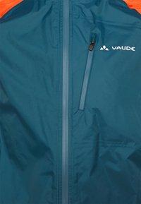 Vaude - MENS DROP JACKET III - Hardshelljacke - baltic/mars red - 2