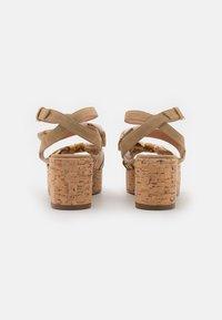 Alberta Ferretti - Platform sandals - beige - 3