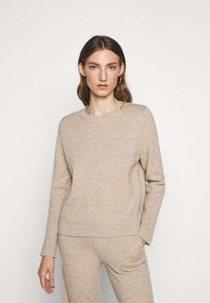 THE BOXY - Jumper - oatmeal
