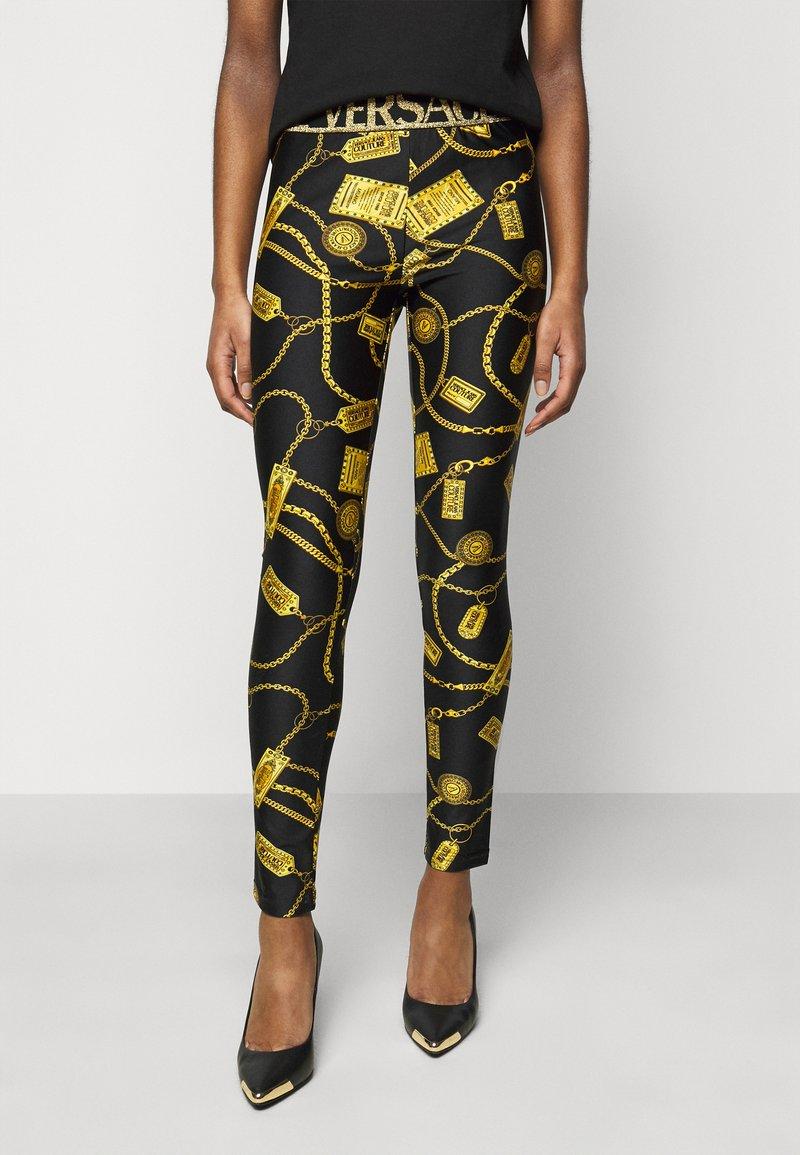 Versace Jeans Couture - Leggings - Trousers - black