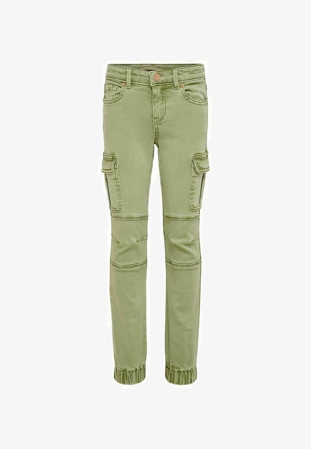 Jeans Tapered Fit - oil green