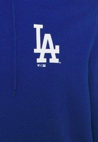Fanatics - MLB LA DODGERS ICONIC ASSET GRAPHIC HOODIE - Hoodie - royal - 2
